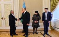 Prezident Milli Qəhrəman Çingiz Qurbanovun ailəsinə mənzil bağışladı -  (FOTOLAR)