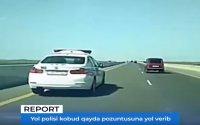 YPX əməkdaşı kobud qayda pozuntusuna yol verib – Dövlət Yol Polisi susur (VİDEO)