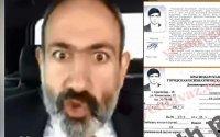 Ermənistanda ŞOK SƏNƏD yayıldı: Nikol Paşinyan dəlixanada yatıb (FOTOFAKT)