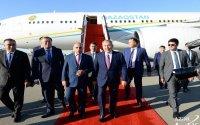 Nursultan Nazarbayev Bakıda - Foto