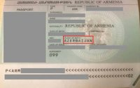 Qarabağ ermənisinin pasportunda doğum yeri AZƏRBAYCAN yazıldı - FOTO