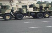 Döyüş kadrları: Azərbaycan ordusunun LAR-160 reaktiv yaylım atəşi sistemi düşmənə zərbə endirir