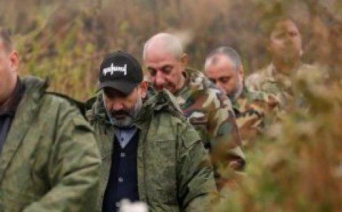 """Paşinyan """"Qarabağ Ermənistandır, nöqtə"""" şüarını təkrarladı – Brayzaya cavab verdi"""