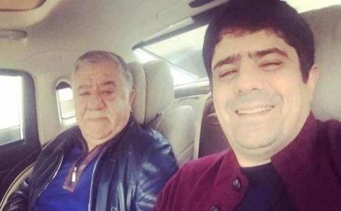 Abbas Abbasovun oğlu kriminal avtoritetlə görüşdü - VİDEO