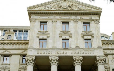 Azərbaycan XİN Ukraynaya başsağlığı verdi