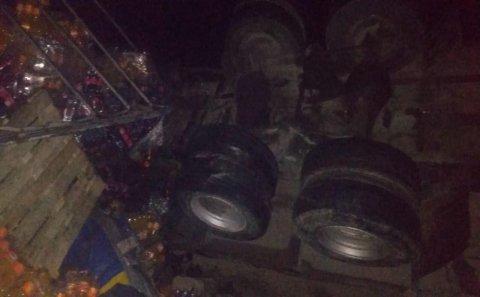 Bakı-Qazax magistralında avtomobil qəzası-Ölən var