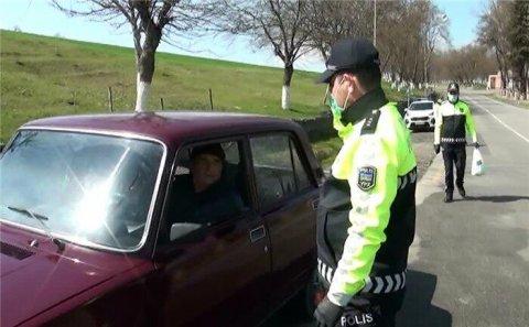 Polis daha bir rayonda sürücülərə spirt payladı