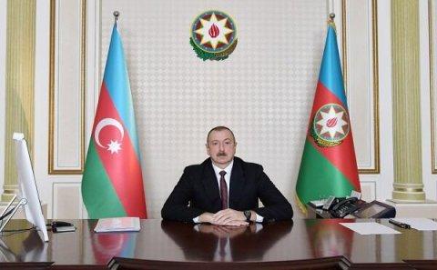 İlham Əliyev videokonfrans rejimində müşavirə keçirdi-Foto