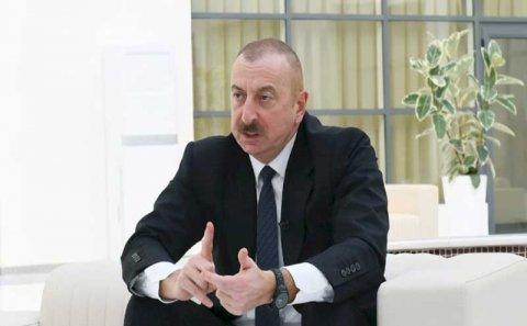 İlham Əliyev təzminat məsələsindən danışdı: