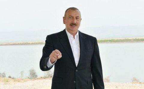 Prezident elan etdi: Bura tarixi Azərbaycan torpağıdır