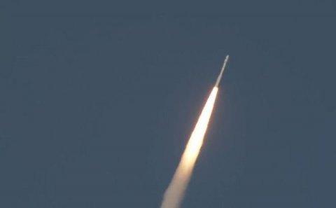 Çin raketi bu əraziyə düşdü - VİDEO