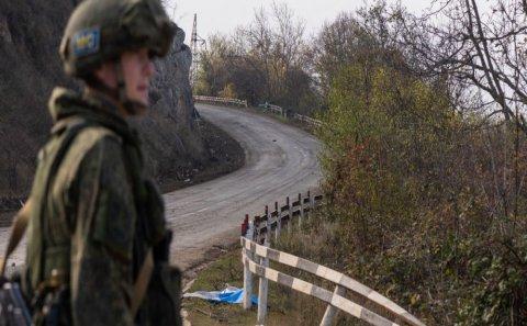Rusiya hərbi polisi Laçın dəhlizində… - Rusiya MN məlumat yaydı