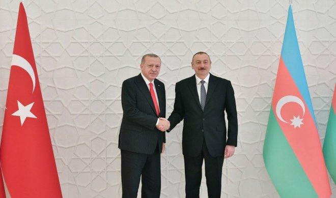 Azərbaycan Prezidenti Türkiyə Prezidenti ilə görüşüb – FOTO